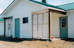 We build apartment duplexes for rent