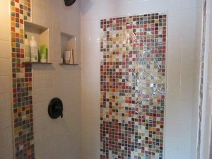 special mosaic tile installation